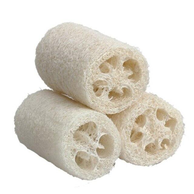 1pc/lots Natural Loofah Luffa Loofa Bath Body Shower Bathing Massage Spa Scrubber Horniness Remover Bathing Massage Sponge 2