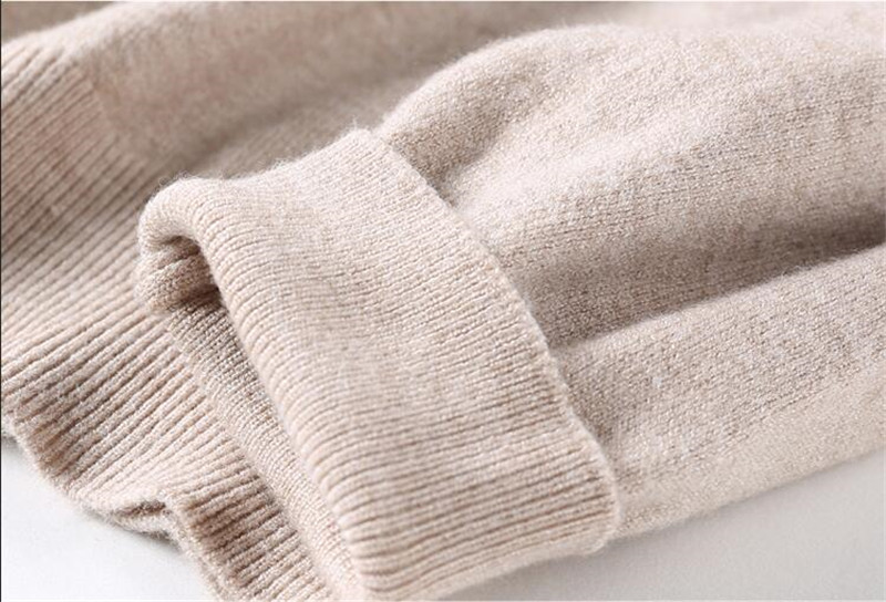 GCAROL 19 Fall Winter Candy Knit Jumper Women 30% Wool Sweater Soft Stretch OL Render Knit Pullover Knitwear S-3XL 30