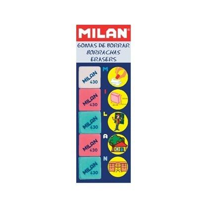 RUBBER MILAN 430-5-5 BLISTER CARD