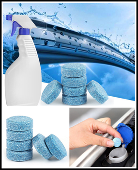 Car windshield strong cleaning concentrate effervescent tablets home for Ford F150 2004 2003 F250 1999 EXPLORER 2002 2001 focus image