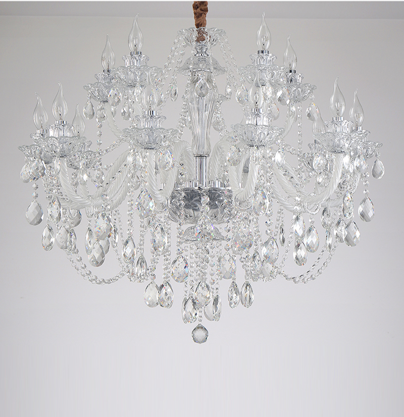 Modern Lighting Chandeliers Home Decorators Collection Light Candelabros Crystal Pendant Chandelier Dining Room Lamps Bed Room