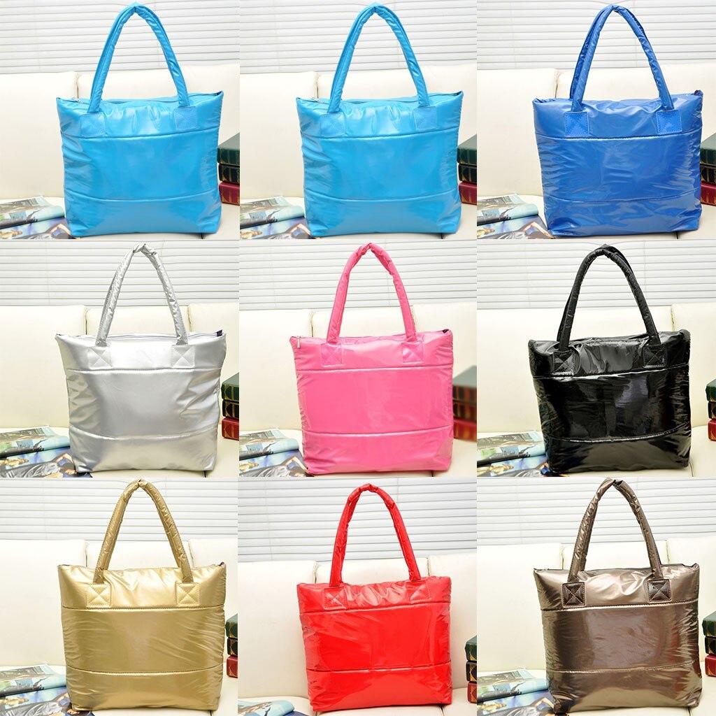 Fashion Trend  Women's Outdoor  Waterproof Nylon   Handbag Shoulder Bag Ladies Casual Big Size Handbag Tote  #