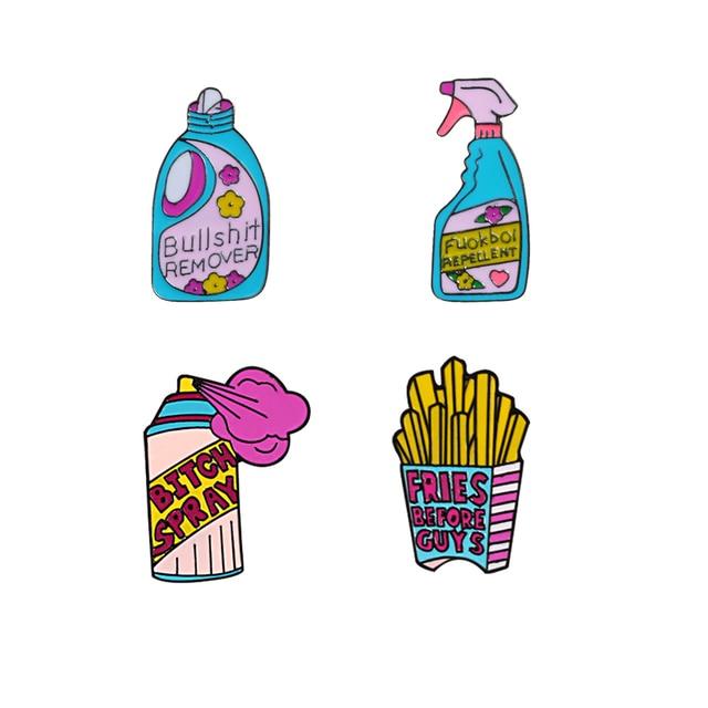 Spray Brooch Pins 1