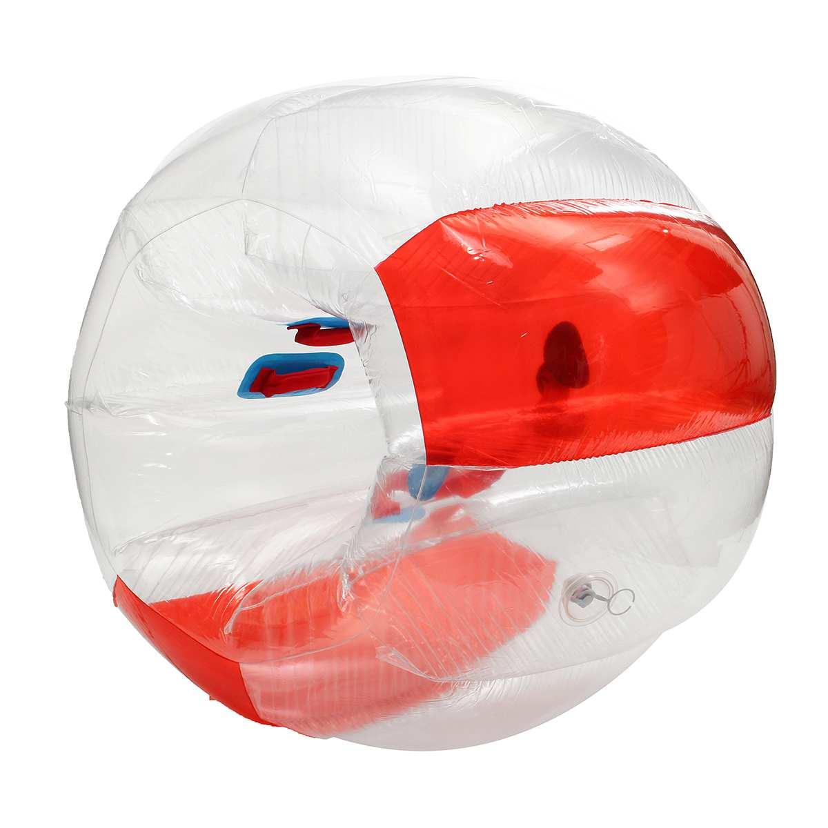 Bubble Voetbal Zorb Bal 120CM Bumper Bal Opblaasbare Body Zorb Bubble Bal Voetbal Kids Outdoor Speelgoed Kerstcadeau - 4
