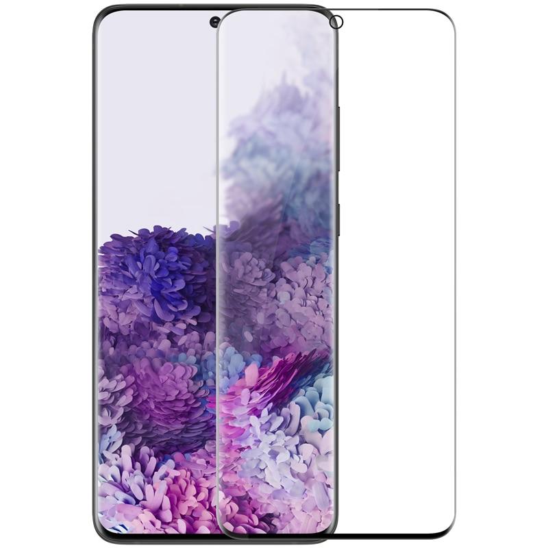 Закаленное стекло для Samsung Galaxy S20 S20 + Plus NILLKIN 3D изогнутый CP + MAX Защита экрана для Samsung S20 ультра стекло Защитные стёкла и плёнки      АлиЭкспресс