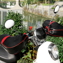 Мотоцикл Скутер руль муфты Водонепроницаемые зимние руки теплые Чехлы перчатки для honda yamaha vespa piaggio kawasaki harley Bmw