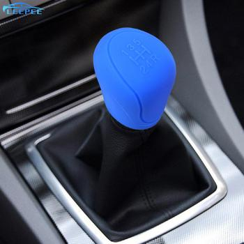 For ESCORT Ford Focus 2 3 4 MK2 MK3 MK4 MT 2009 - 2017 Car Gear Shift Collars Car-styling Silicone Gear Head Shift Knob Cover image