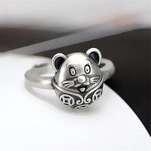 Lightning ofrece señales del zodiaco, anillos para mujeres con diseño divertido de ratón y rata, anillos para mujer, estilo gótico de San Valentín