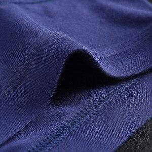 Image 5 - 4 sztuk/partia oddychająca modalne bielizna męska nowe majtki męskie body męskie wygodne stałe kalesony męskie majtki