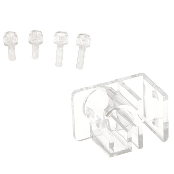 12mm/16mm Acrylic Aquarium Hose Tube Fixing Clip Clamp Holder For Water Pipe image