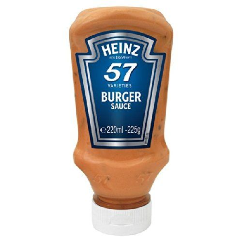 Heinz Salsa Di Hamburger 220ml