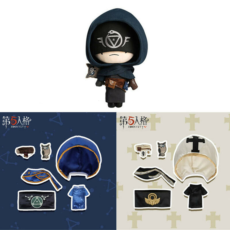 Cute Game Identity V Survivor Eli Seer Clark Cosplay Plush Doll Plushie Toy Change Suit Dress Up Clothes Cute Christmas Gift