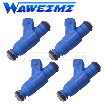 WAWEIMI 4 Pieces Fuel Injector OE 0280157154 55258432 For Fi-at Palio 1.4 2013 New Ariival