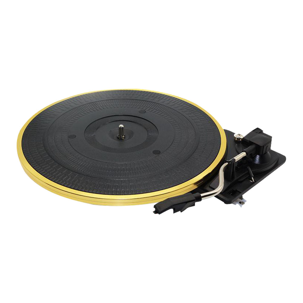 28cm 33 45 78Rpm Vinyl Gramophone Turntable Metal Curve Arm Audio Record Player Adjustable Automatic Stereo Vintage Accessories