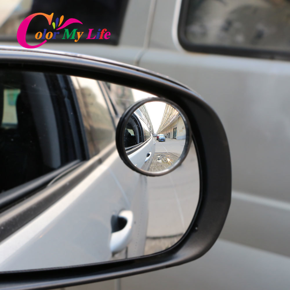 Car Wide Angle Rear View Convex <font><b>Mirror</b></font> Sticker for <font><b>Ford</b></font> Focus 2 3 4 MK2 MK3 MK4 Kuga Fiesta Ecosport MONDEO Mustang <font><b>Explorer</b></font> image