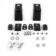цена на 1Set Engine Bonnets Metal Hood Lock with Key Pattern Design Car Hood Lock For Jeep Wrangler JK 2007-2017 for car accessories