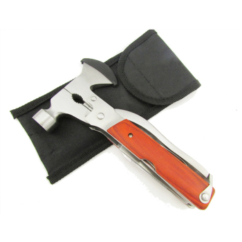 Multifunction Hammer Axe Opener Knife Sawtooth Screwdriver Pliers Tool Kit Emergency Survival Hatchet EDC Tools 6
