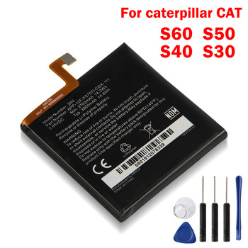 Original Replacement Battery For Caterpillar Cat S60 S50 S40 S30 APP-12F-F57571-CGX-111 Authenic Rechargeable Battery 3800mAh