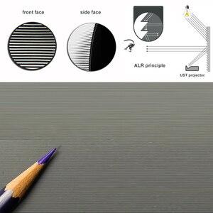 """Image 3 - Üst sınıf ALR ortam işığı reddetme CLR sabit çerçeve projeksiyon perdesi 100 """"120"""" için Ultra kısa mesafeli projektörler"""