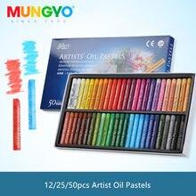 12/25/48 cores mungyo óleo pastel para o artista graffiti macio pastel pintura desenho caneta crianças escola artigos de papelaria arte suprimentos