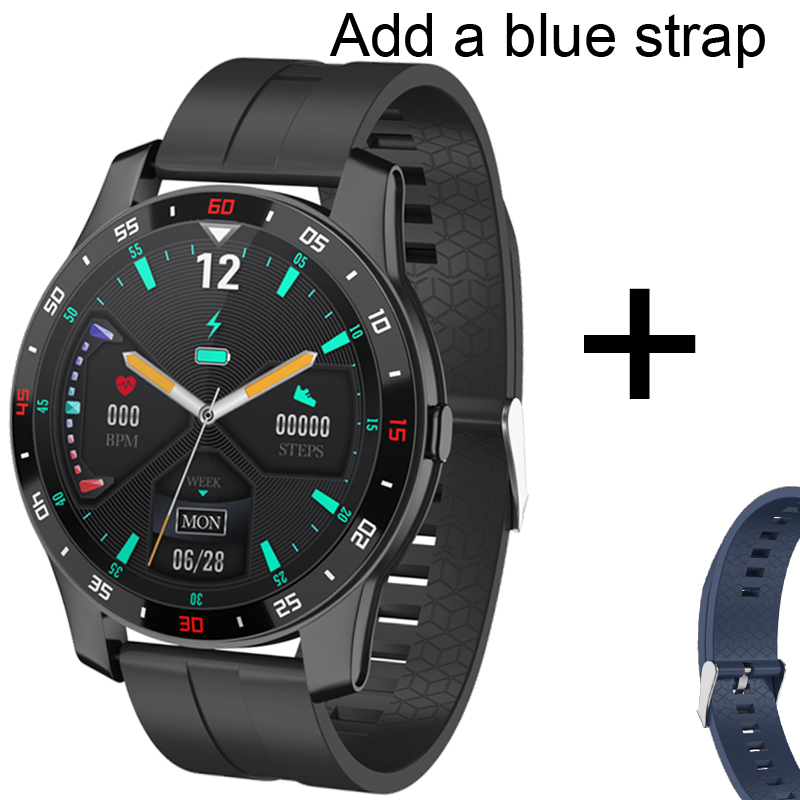 Add blue strap