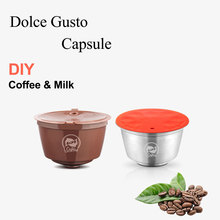 COFFEE-FILTER Dolce Gusto Capsule Stainless-Steel Nescafe Plastic with Milk-Foam Aeroccino