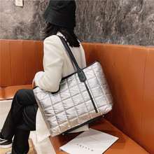 Online store 2020 Winter  New Brand Designer Women's Tote Bags Luxury Space Cotton Shoulder Bags Large Capacity Shopping Bag Sac A Main