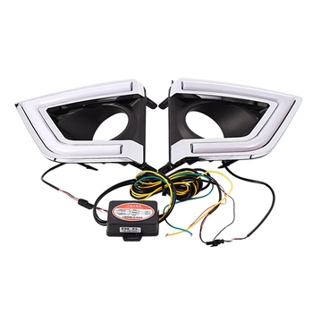 Daytime Running Light for Toyota Corolla 2014-2016 Car Accessories Waterproof Abs 12V Drl Fog Lamp Decoration