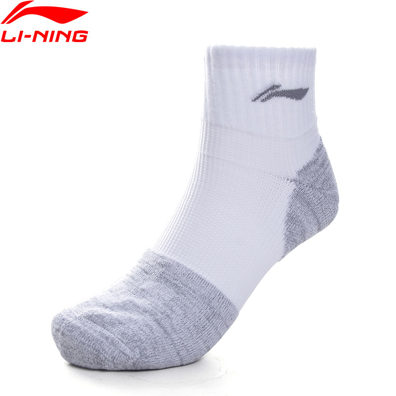 Li-Ning Unisex Men Women Training Socks Size 39-46 Size 94.4% Chinlon 5.6% Spandex LiNing Li Ning Sports Socks AWSP252 NWW257