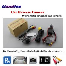 Auto Achteruitrijcamera Voor Honda City/Grace/Ballade/Greiz/Gienia 2016 2017 2018 2019 2020 hd Ccd Reverse Camera Auto Accessoires(China)