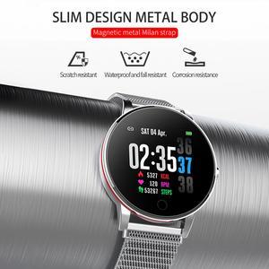Image 3 - LEMDIOE frauen mens smart watch wasserdicht ip67 herz rate monitor multiply sport modus austauschbare strap paar uhr smart