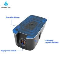 Comprar https://ae01.alicdn.com/kf/H49e44f86da3e4aaf9ec6f9c9e0e7d21eq/Smartour para Volvo XC60 S90 V90 XC90 coche QI carga inalámbrica teléfono cargador placa de carga.jpg