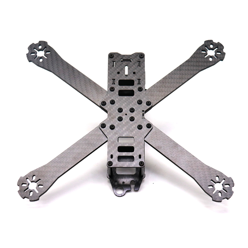 Image 2 - TCMMRC FPV Frame Boat X Wheelbase 220mm 250mm 4mm Arm Carbon Fiber For FPV Racing Drone Frame Parts-in Parts & Accessories from Toys & Hobbies