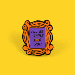 Друзей эмали штырь пользовательские Моники расположены двери броши для рубашка с лацканами сумка старые любимые значок Забавный подарок ювелирной дружбы