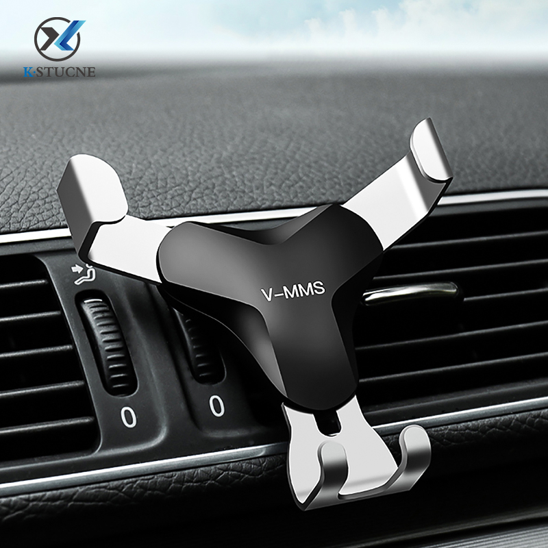 Universal Gravity Car Phone Holder For Samsung Huawei Xiaomi Support Air Vent Car Stand For IPhone 11 Samsung Support Car Holder