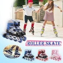 Shoes Roller-Skates Skating Freestyle 4-Wheel Kids Children Adjustable for Teenager Toys
