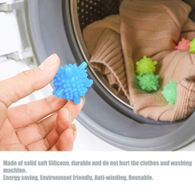 5pcs/set Magic Laundry Ball Anti-winding Decontamination Wash Household Cleaning Clothes Machine Starfish