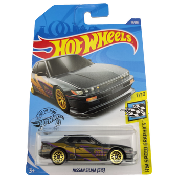 2020 Hot Wheels 1:64 Car NISSAN SILVIA S13 Collector Edition Metal Diecast Model Cars Kids Toys Gift