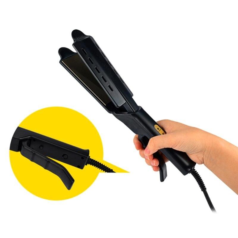 4-engrenagens eletrônico constante temperatura alisador de cabelo