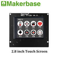 3D Printer Parts MKS TFT28 V4.0 Controller Display 2.8 Inch TFT Touch Screen Support/WIFI/APP/Outage/Language for MKS SBASE