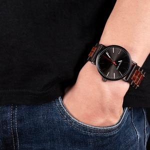Image 3 - BOBO BIRD reloj de madera para hombre, relojes de pulsera de cuarzo con movimiento japonés, masculino