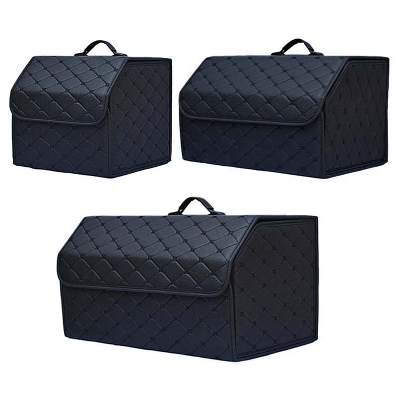 Storage-Organizer Car Trunk Multipurpose Collapsible Portable with Lid