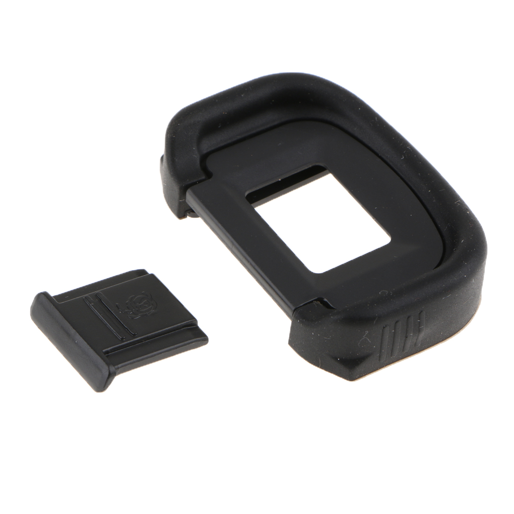 1 Piece Viewfinder Eyecup Eyepiece+Hot Shoe Cover for Canon EOS 5D Mark II