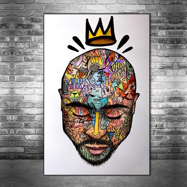 West Coast Hip Hop Tupac Music Poster 8