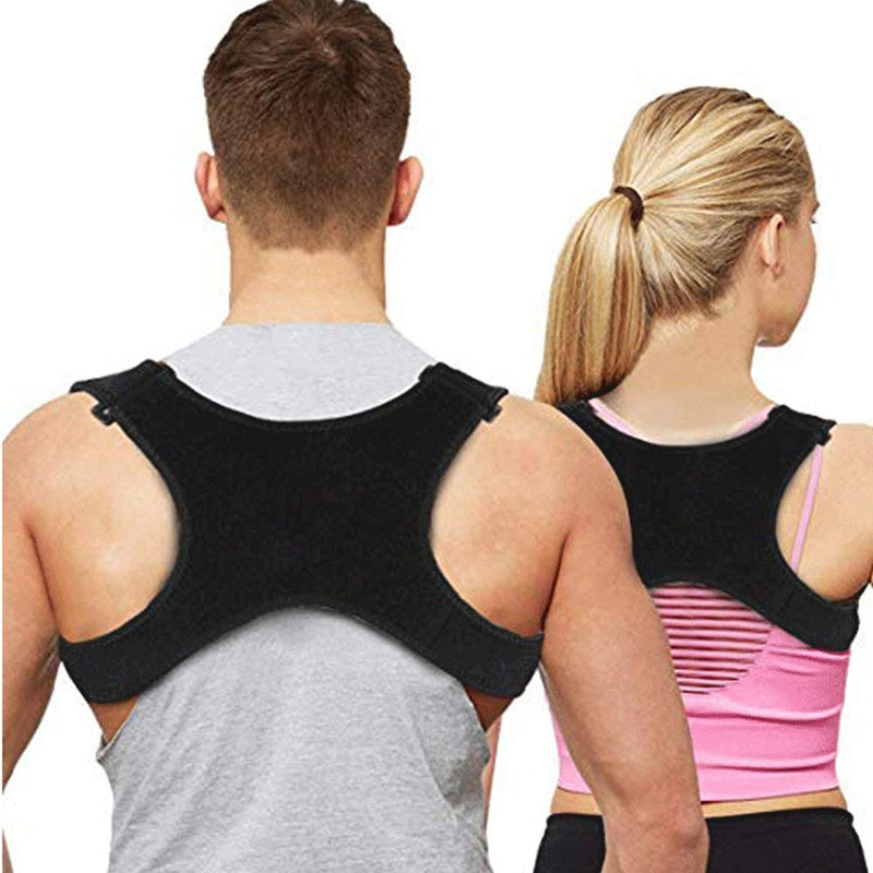 Hot Sale Posture Clavicle Support Corrector Back Straight Shoulders Brace Strap Correct Bone Care Posture Clavicle Support Belt(China)