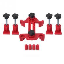 9pcs Car Auto Dual Cam Clamp Camshaft Engine Timing Sprocket Gear Locking Tool Kit Accessories