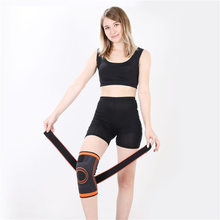 Sports knee pads new compression knit running basketball mountaineering sports protective gear