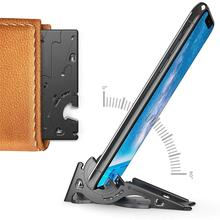 Universal Mobile Phone Tablet Stand Foldable Pocket-size Pla
