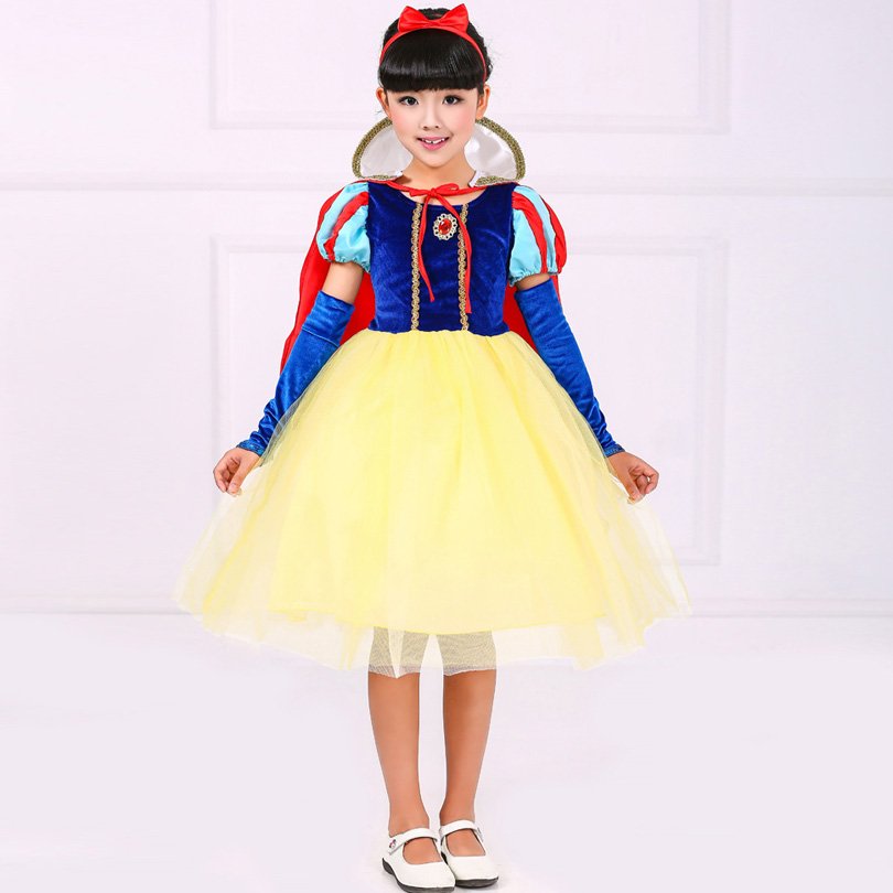 4-10 T Children Girl Snow White Dress for Girls Prom Princess Dresses Ball Gown Kids Party Clothes Fancy Halloween Clothing winnie the pooh iphone case