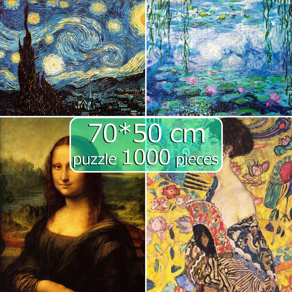 Jigsaw Puzzles 1000 Pieces Scenery 50*70 Cm Assembling Picture Landscape Puzzles Toys For Adults Children Games Educational Gift